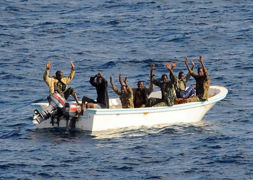 Adeno įlankoje suimti piratai