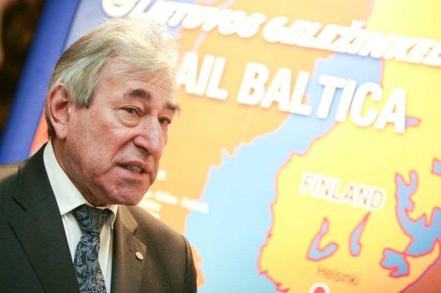 """Projektas """"Rail Baltica"""" bus įgyvendinamas, reikalai netrukus pajudės į priekį."""