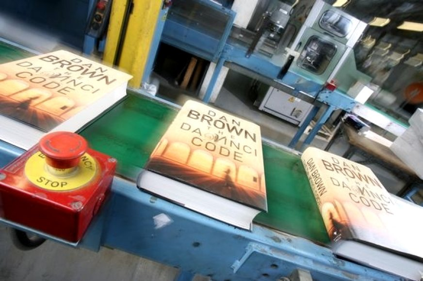 "Dano Browno knyga ""Da Vinčio kodas"""