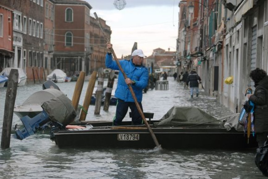 Venecija po potvynio