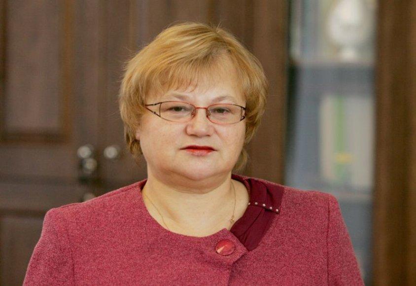 Teisėjų tarybos pirmininkė Laima Garnelienė.
