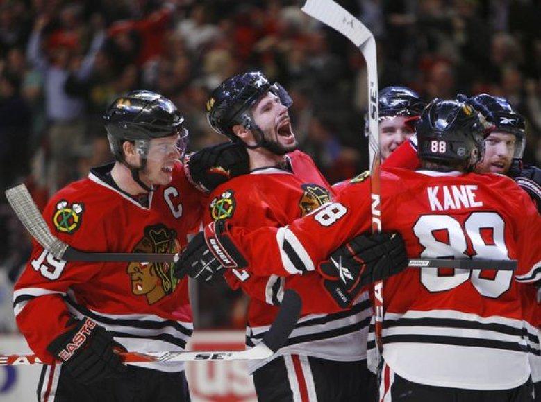 Čikagos komandos triumfas