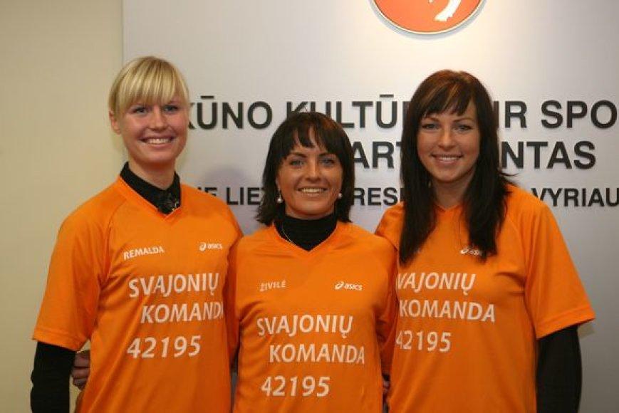 Maratono svajonių komanda