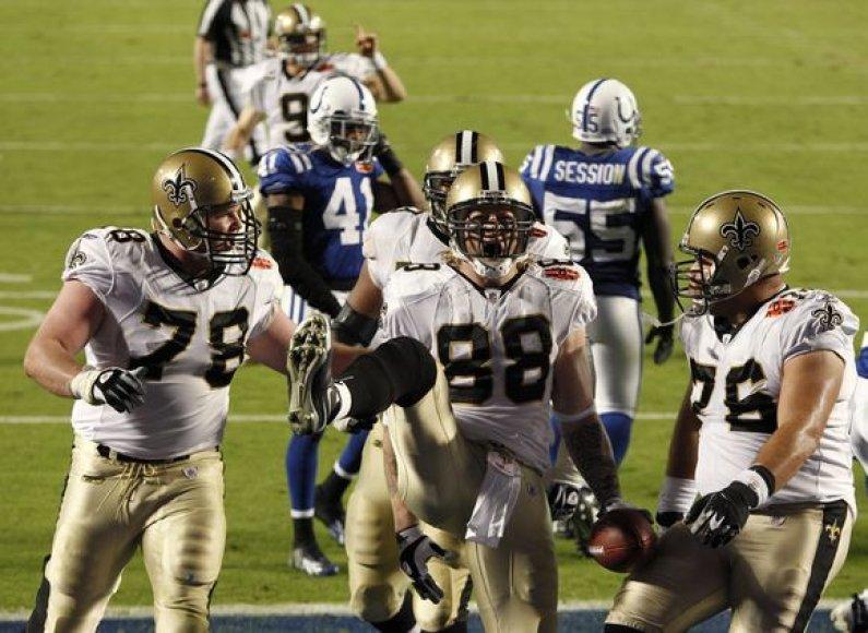 Naujojo Orleano komanda pirmą kartą tapo NFL čempionais