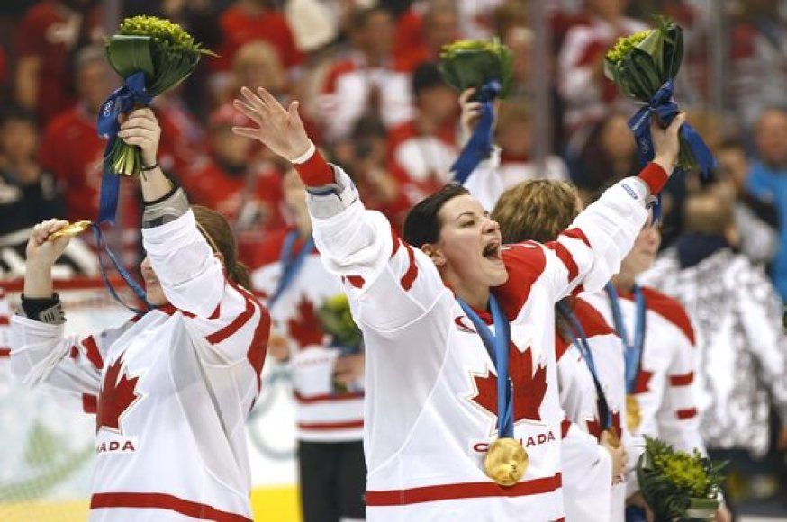 Kanadietės finale įveikė JAV rinktinę