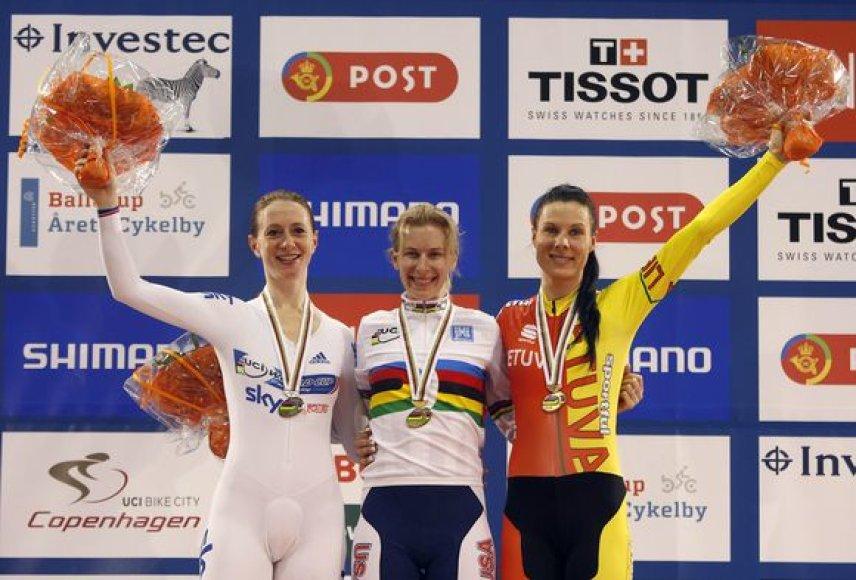 Vilija Sereikaitė (dešinėje) laimėjo pasaulio čempionato bronzą