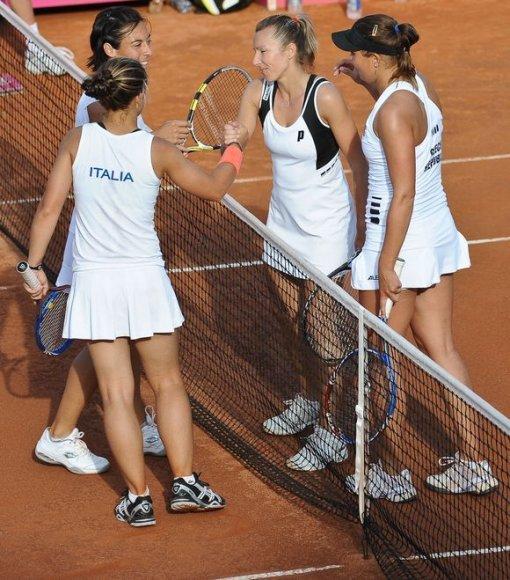Italės gina čempionių titulą