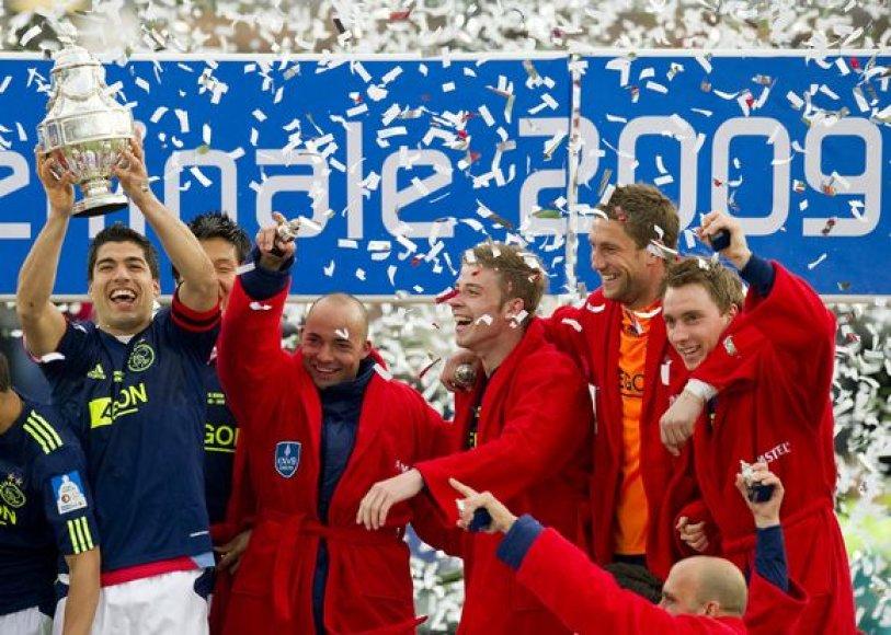 """""""Ajax"""" laimėjo Olandijos taurę"""