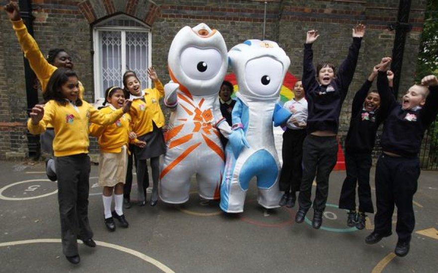 Londono olimpinių žaidynių talismanai