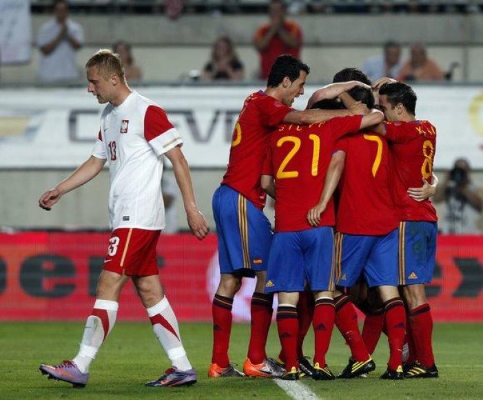 Ispanai sutriuškino lenkus