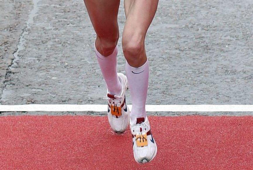 Vilniaus maratone - moksleivių estafetė