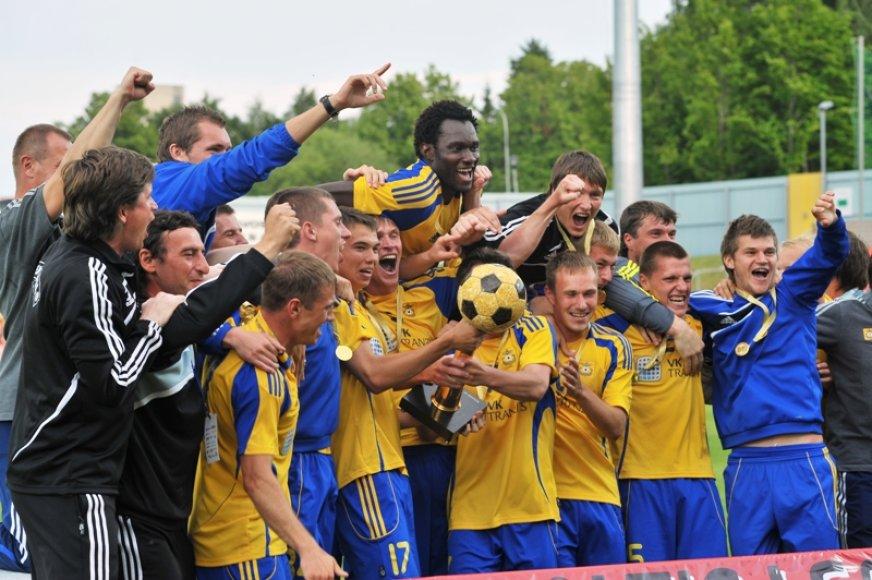 Baltijos lygos finale - latvių triumfas