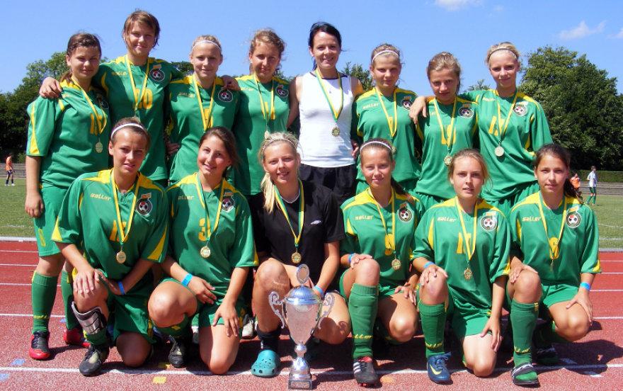U-19 merginos Danijoje