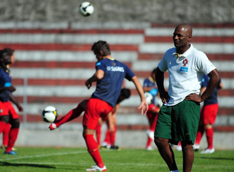 Portugalų vyriausiasis treneris Oceano da Cruzas