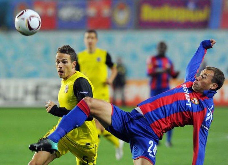 CSKA įtikinamai įveikė varžovus
