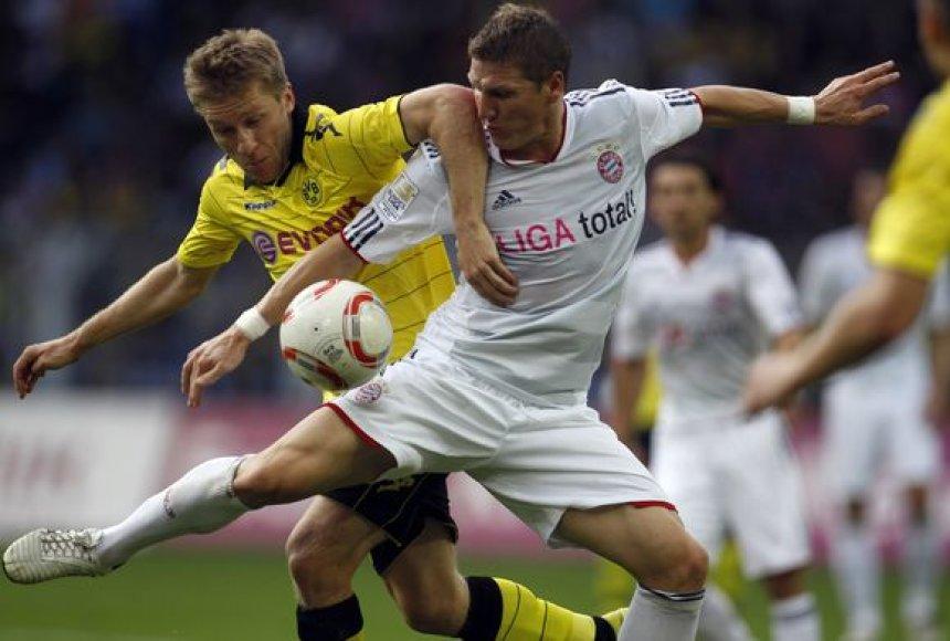 """""""Bayern"""" žaidimas stringa bundeslygoje"""