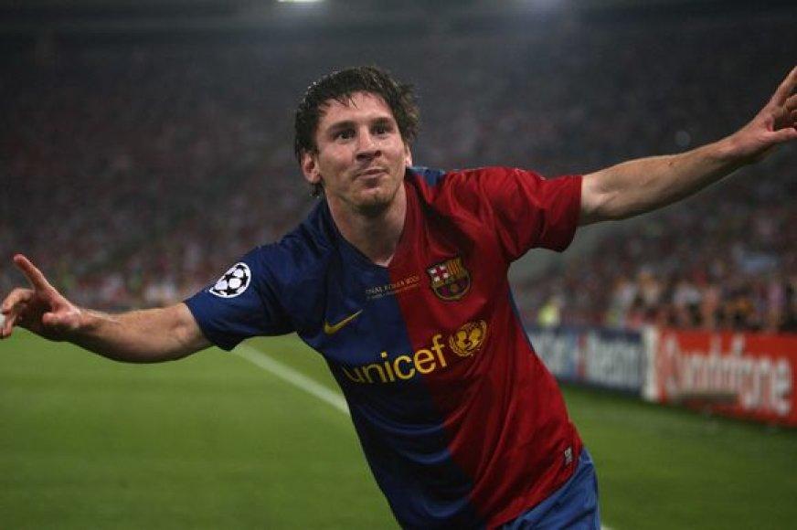 L.Messi ši pergalė – didžiausia