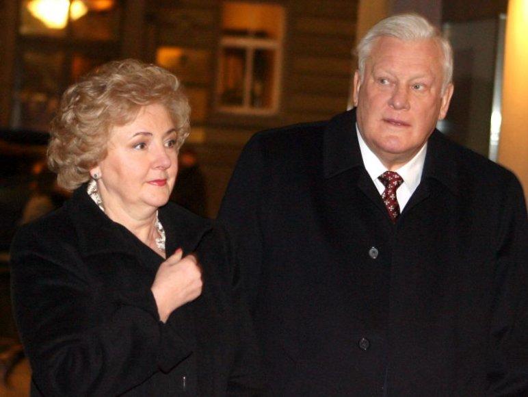 Kristina ir Algirdas Brazauskai