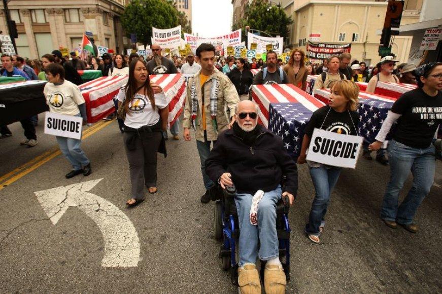 Protesto akcija Holivude.