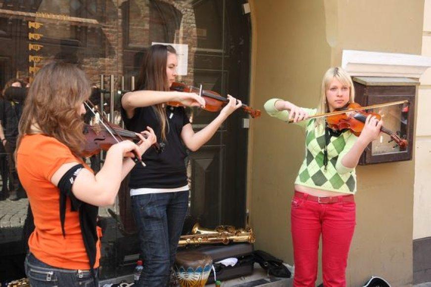Gatvės muzikos diena uostamiestyje vyks jau antrus metus.