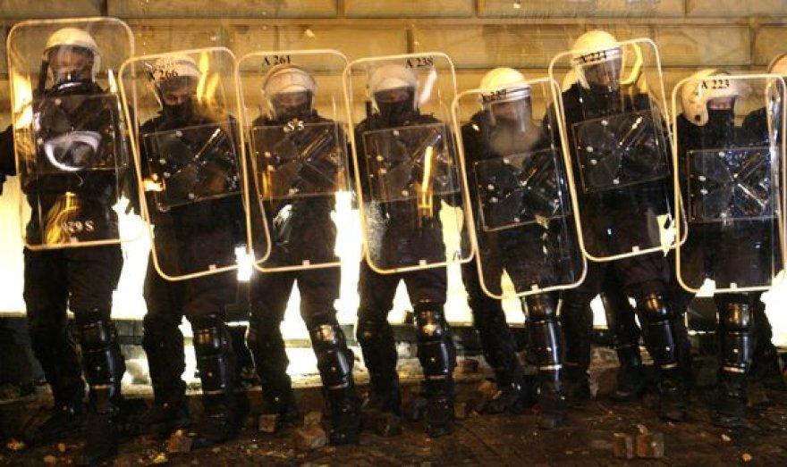 Protestas Rygoje