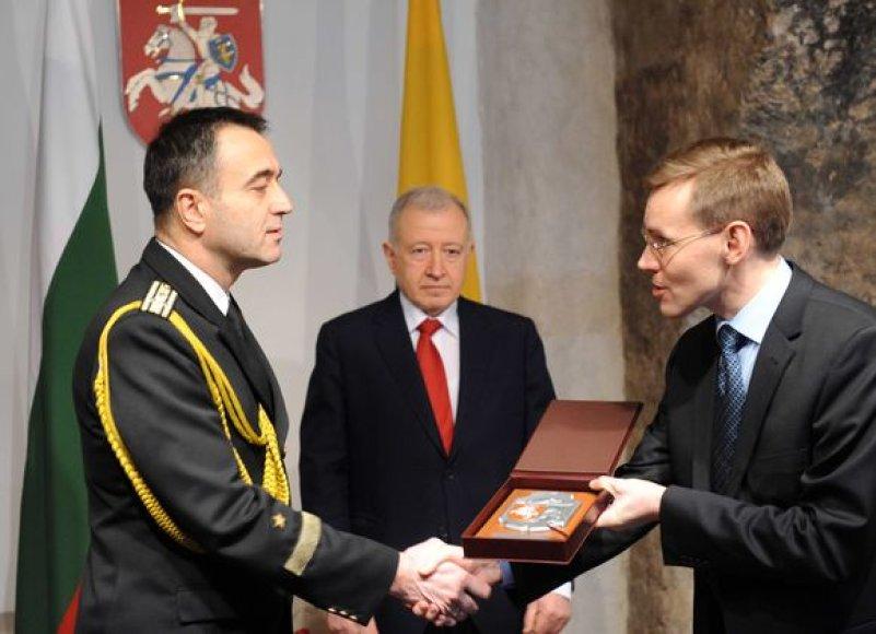 Krašto apsaugos ministerijoje akredituotas naujasis Bulgarijos gynybos atašė Lietuvai.