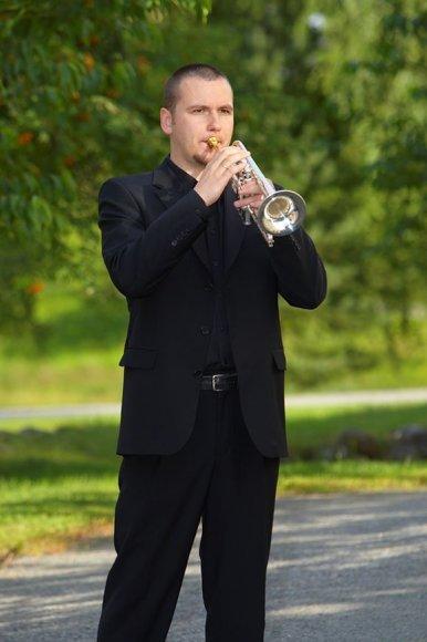 ymus trimitininkas T.Gricius sekmadienį gros kartu su Kauno miesto simfoniniu orkestru.