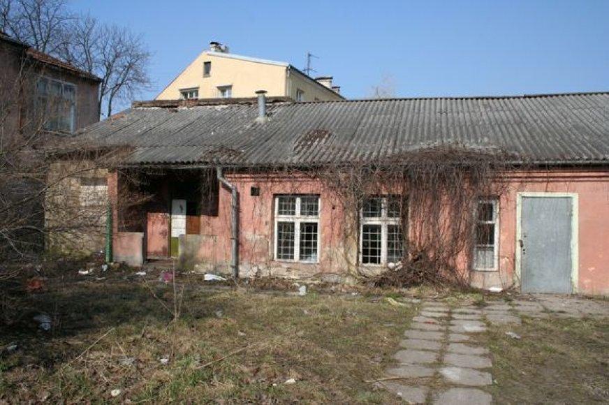 Teigiama, kad šis pastatas buvo neteisėtai privatizuotas.