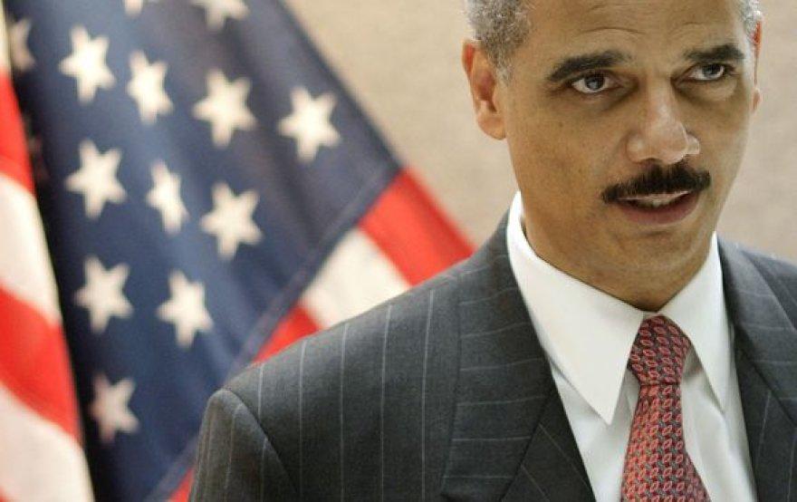 JAV generalinis prokuroras Ericas Holderis