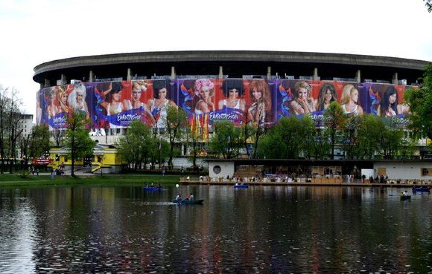 Maskvoje sekmadienį įvyks Eurovizijos atidarymo ceremonija.