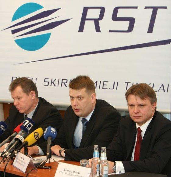 Kęstutis Tubis (kairėje)