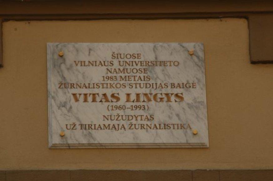 Visuomenė saugo V.Lingio atminimą.
