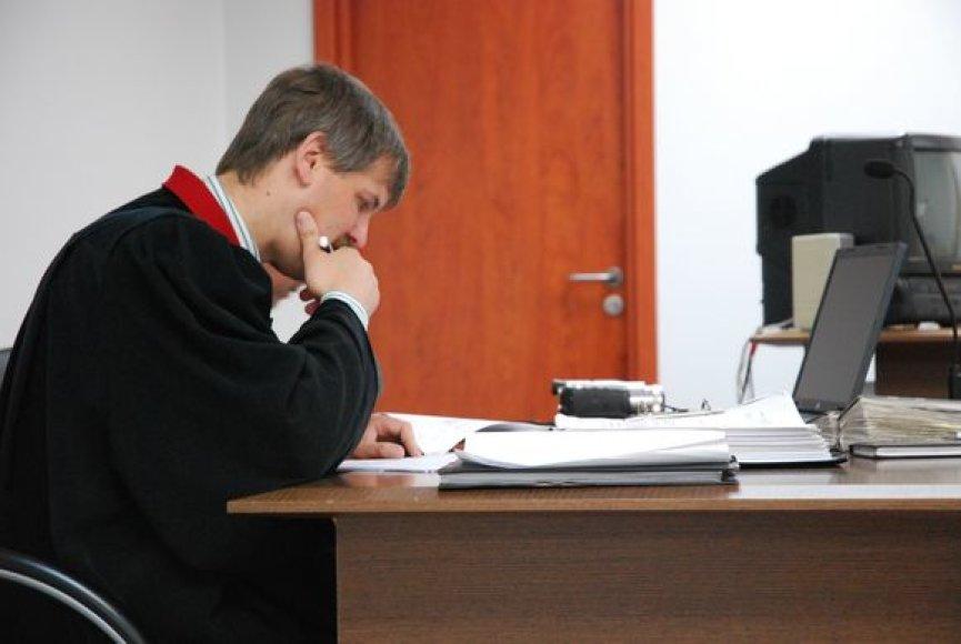 Susimąstęs prokuroras R.Matevičius