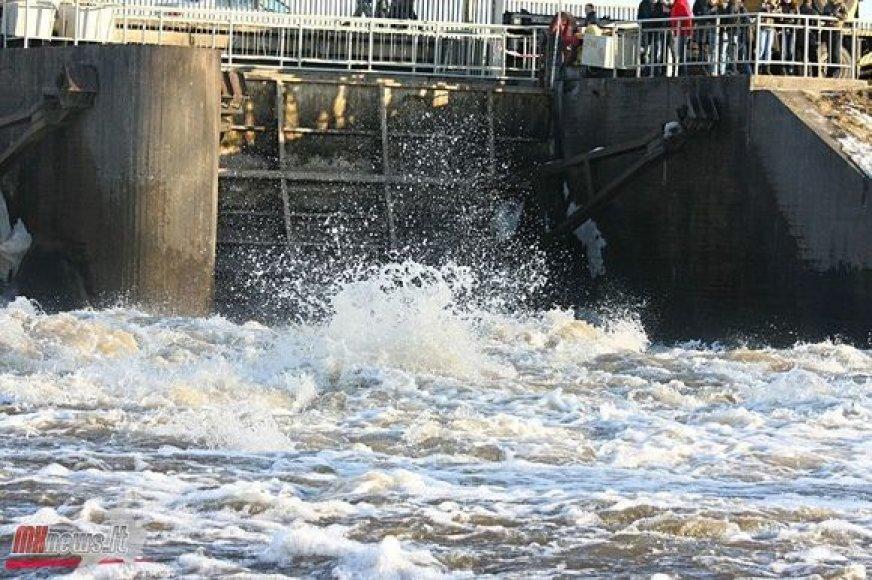 Potvynio padariniai Panevėžyje