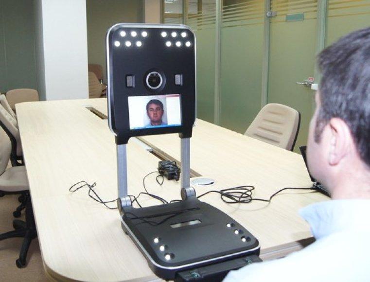 Naujoji biometrinių duomenų registravimo įranga.