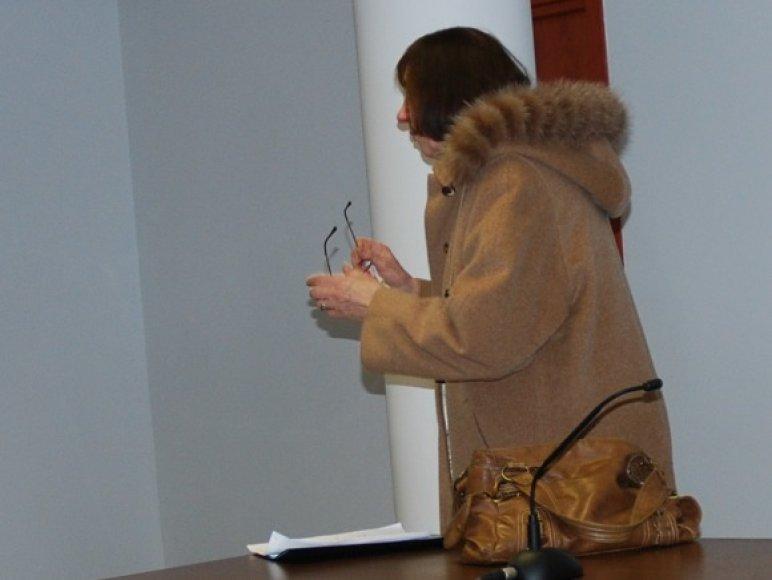 Violeta Zubavičienė teisme