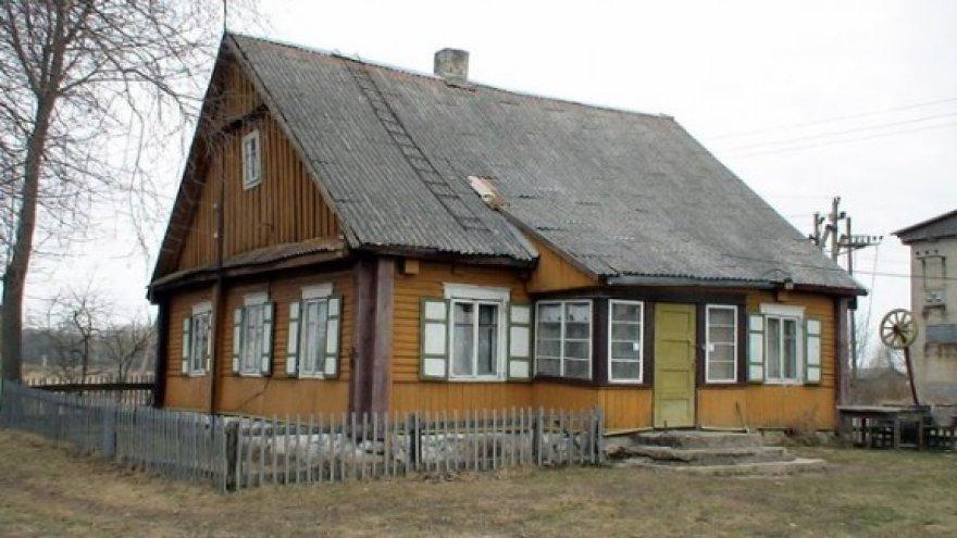 Namas, kuriame vyko išgertuvės, pasibaigusios kruvinu incidentu.