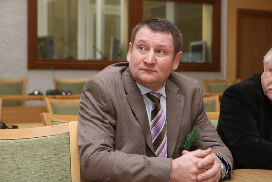 Vidmantas Sadauskas, kandidatas į Lietuvos Respublikos Prezidentus
