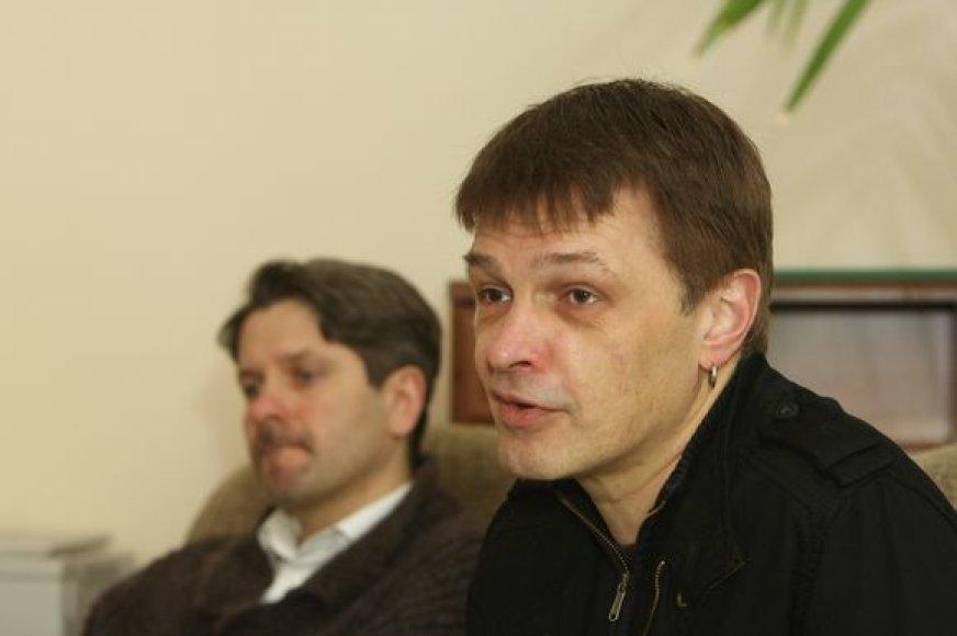 Andrius Bialobžeskis ir Gintaras Varnas