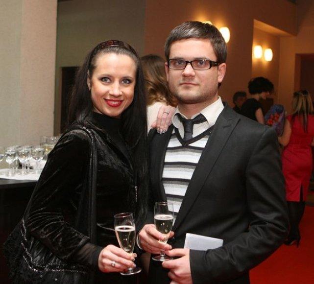 Ingrida Kazlauskaitė ir Edvardas Žičkus