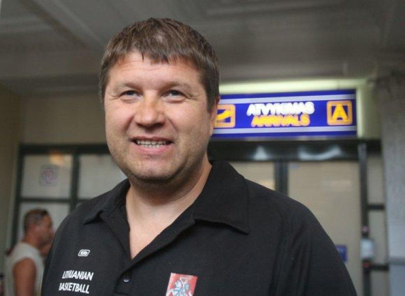 Treneris R.Kuncaitis