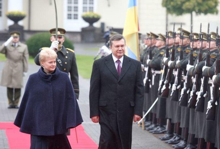 Ukrainos prezidento V.Janukovyčiaus vizitas Lietuvoje