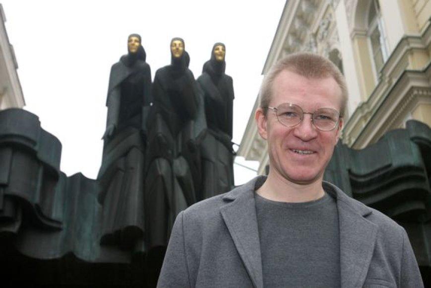 Lietuvos nacionalinio dramos teatro direktorius Martynas Budraitis