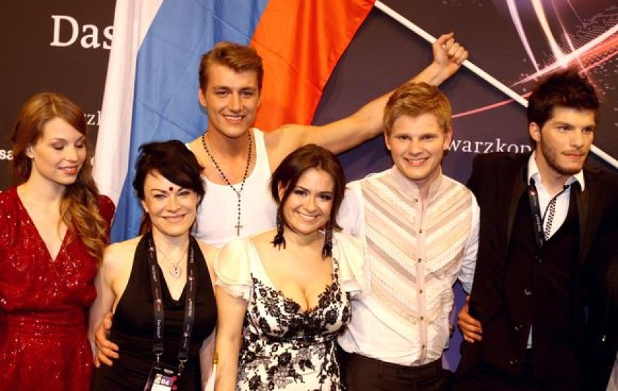 """Pirmojo """"Eurovizijos"""" pusfinalio nugalėtojai, patekę į finalą."""