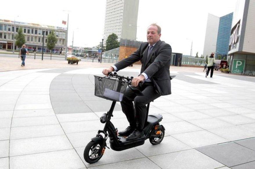 Vilnius bus pirmasis Europos miestas, kuriame bus nuomojami elektriniai dviračiai.