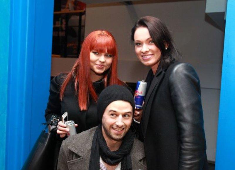Gintarė Valaitytė, Gytis Šapranauskas ir Ieva Stasiulevičiūtė