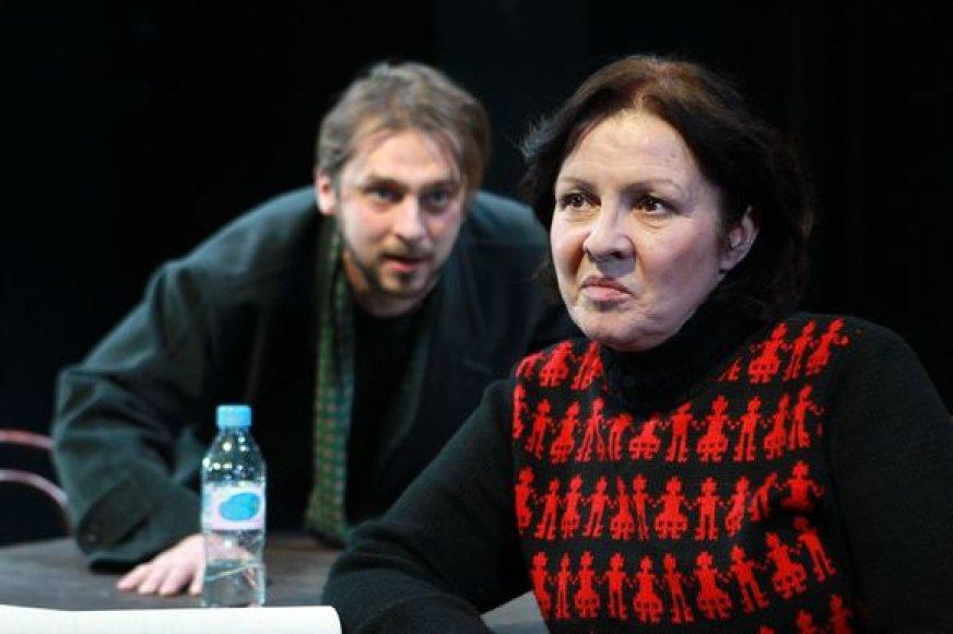 Mantas Vaitiekūnas ir Eglė Gabrėnaitė