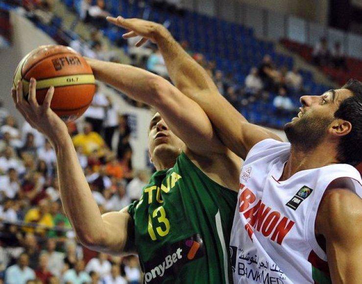 Lietuvos ir Libano rinktinių dvikova