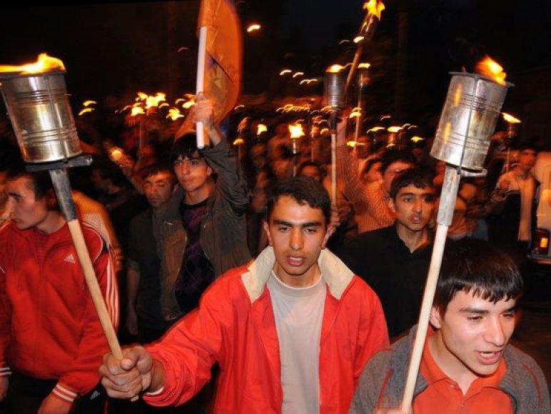 Kasmet balandžio 23 dieną armėnai mini 1915-ųjų genocidą.