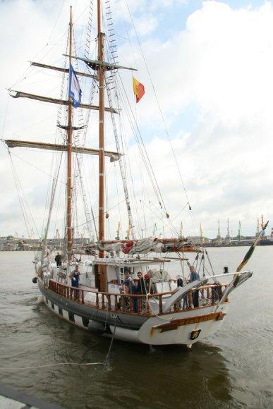 """Klaipėdos universiteto laivas """"Brabander"""" taip pat dalyvaus didžiųjų burlaivių regatoje."""